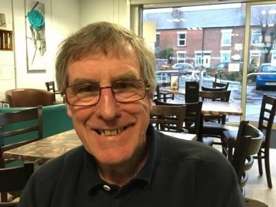 Image of our volunteer, Paul