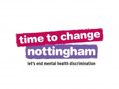 Time to Change Nottingham logo